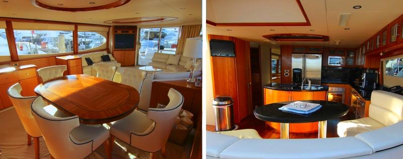 84 Ft. Lazarra flybridge w/ jet ski Rental Miami | 305 Exotics