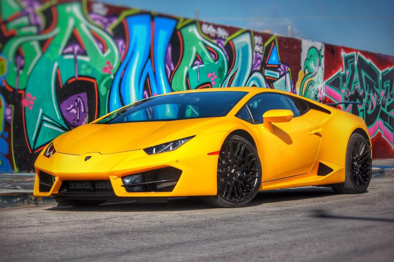 Lamborghini Huracán Coupe Rental Miami | 305 Exotics
